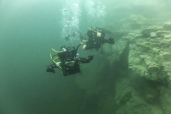 Trudna sztuka podwodnej nawigacji...